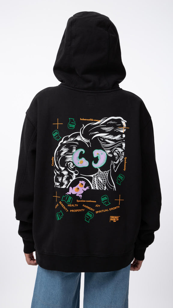 Brain Dead - Lover's Embrace Hood | Clothing - Sweaters - Hoodies