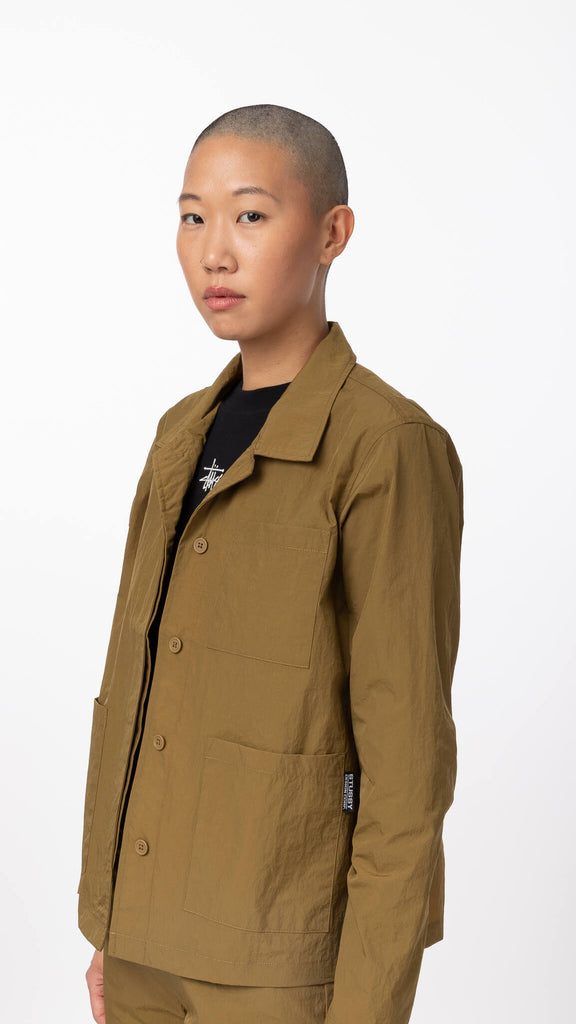 Stussy - Nylon Chore Shirt | Clothing - Jackets & Coats - Jackets