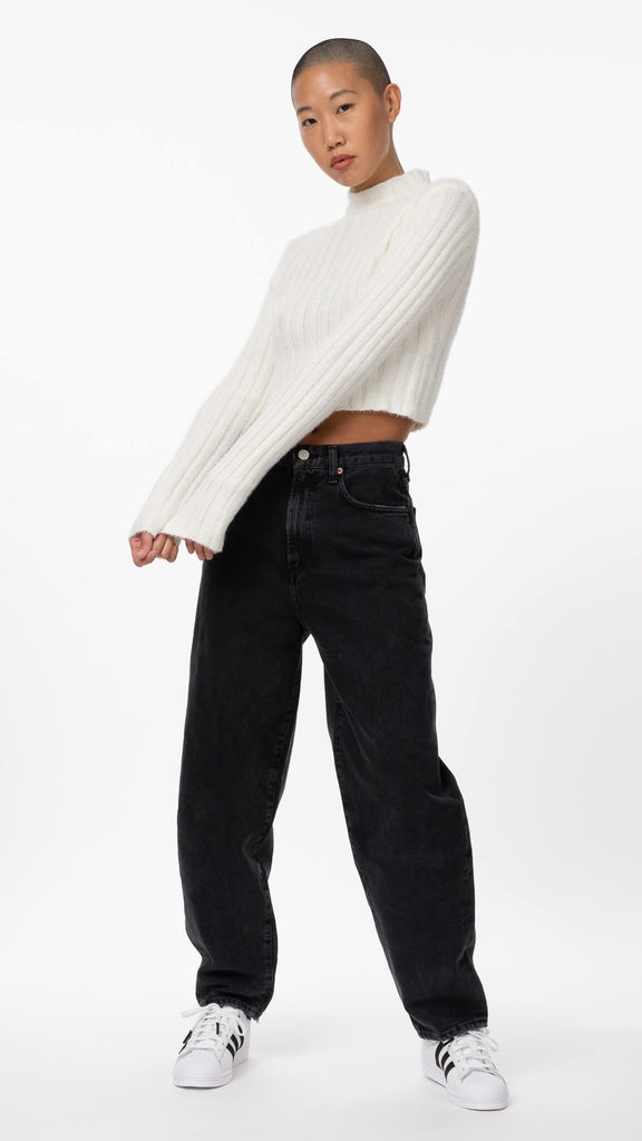 Sweet Dreams - Ivory Cropped Knit | Clothing - Sweaters - Knits