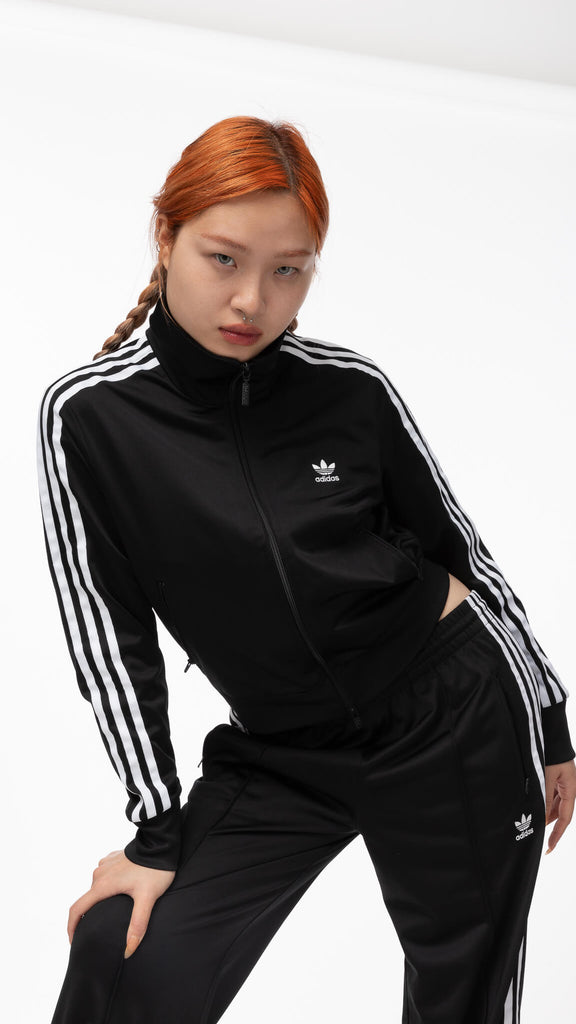 Adidas - Black Firebird Track Jacket | Clothing - Jackets & Coats - Jackets
