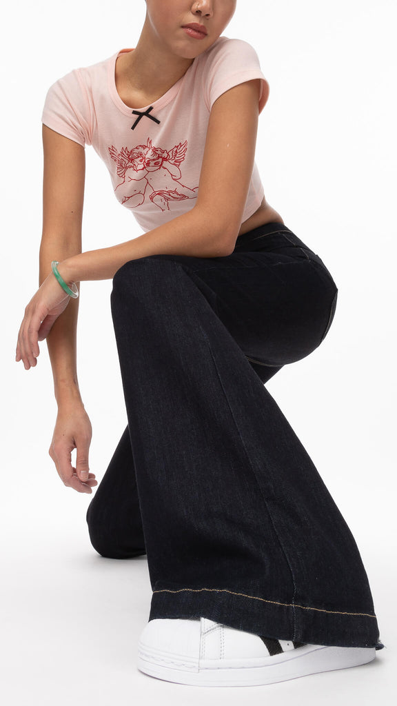 Just USA - Wide Leg Jeans | Clothing - Bottoms - Pants