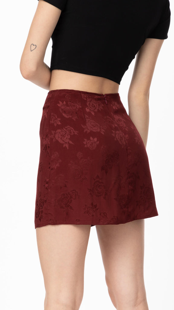 Motel - Rose Mulberry Shenka Skirt | Clothing - Bottoms - Skirts