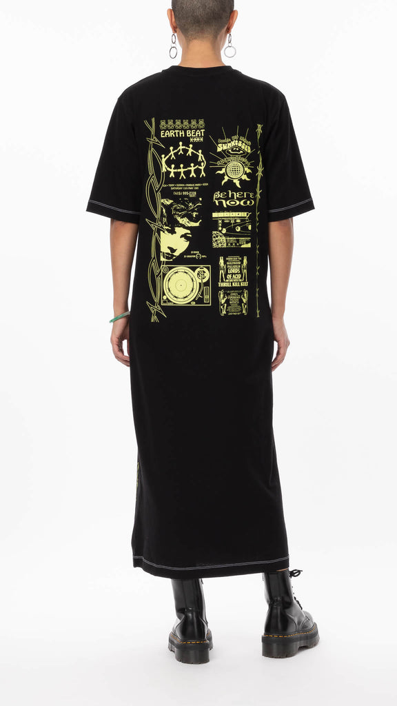 New Girl Order - Maxi T-shirt Dress | Clothing - Dresses