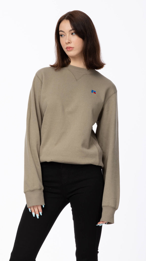Russell Athletic - Dry Grass Crewneck | Clothing - Sweaters - Crew-necks