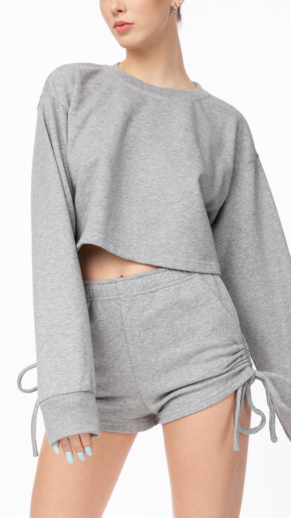 Sweet Dreams - Grey Crewneck | Clothing - Sweaters - Crew-necks