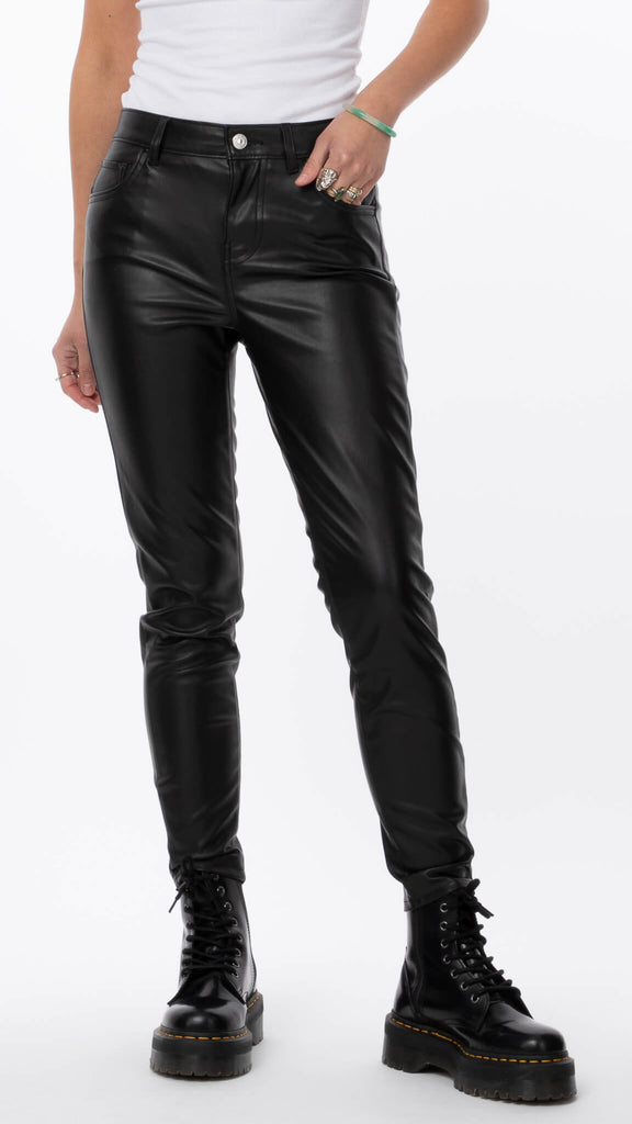 720 Faux Leather Pant