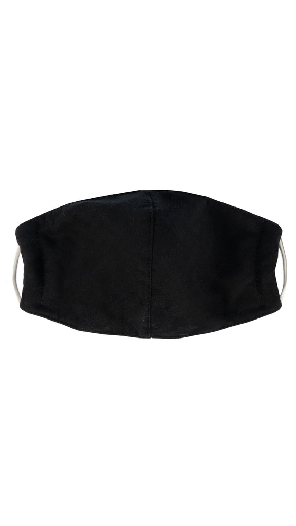Facemask - Black Cotton Soft Mask | Accessories - Masks