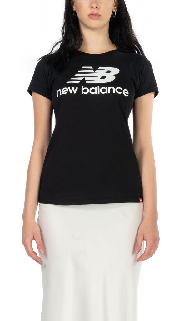 New Balance - Essentials Stacked Logo Tee | Clothing - Tops - Shirts
