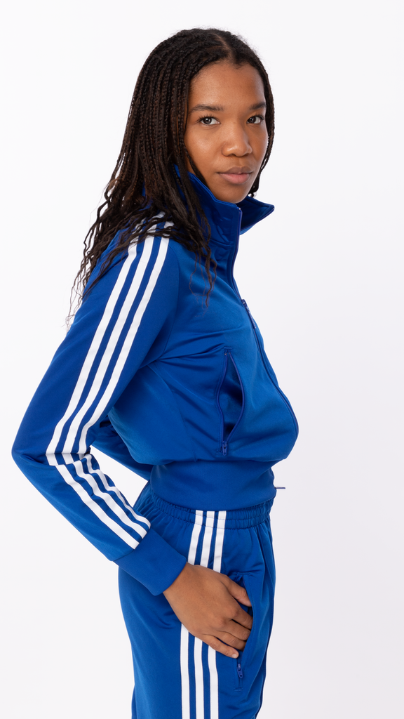 Adidas - Blue Firebird Track Jacket | Clothing - Jackets & Coats - Jackets