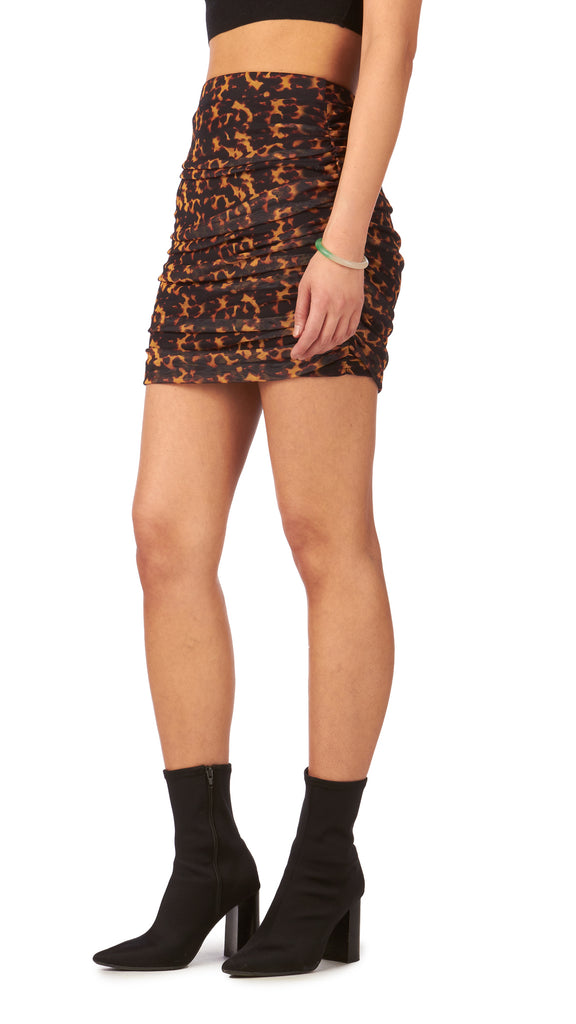 Daisy Street, Mesh Mini Skirt Side Seam, Clothing - Bottoms - Skirts - Editorial Boutique