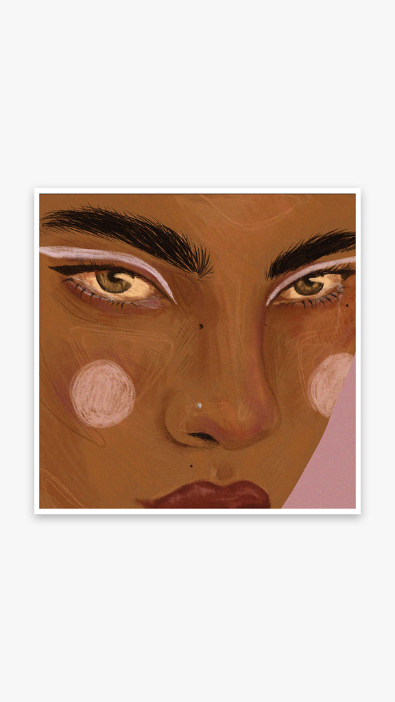 Lana Denina - The Look | Art - Prints
