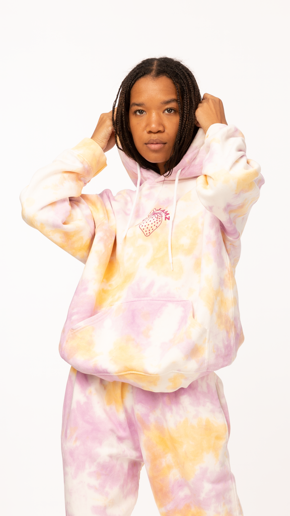 New Girl Order - Strawberry Hood | Clothing - Sweaters - Hoodies