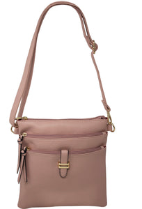 Gold Metal Touch Crossbody Bag