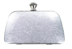 Crystal clasp evening bag