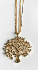 Load image into Gallery viewer, Tree of life long necklace