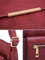Load image into Gallery viewer, Front pocket crossbody bag