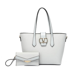 Tote and purse set
