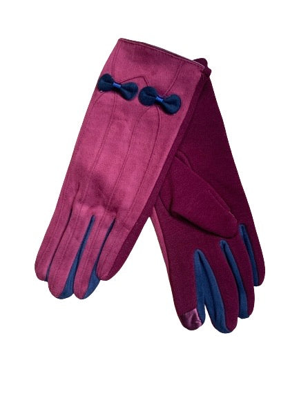 Double bow glove