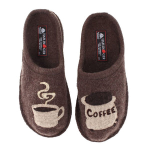 Haflinger AR Coffee Earth Ladies Slippers (Women's)