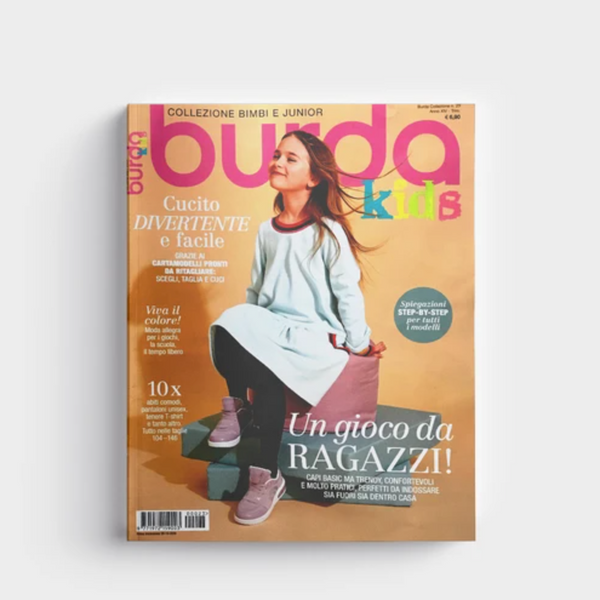 Lil'Gaea in Burda Kids Italy !
