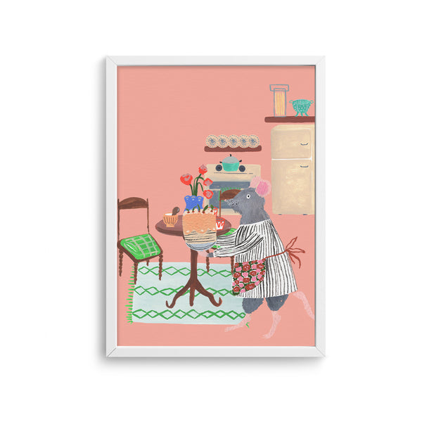 Mouse House Living Room 2 Poster