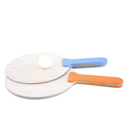Ping Pong Racket Orange & Blue