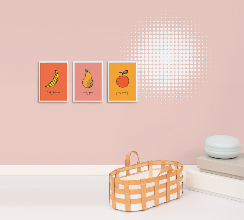 Juicy Orange Poster