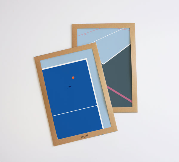 Ping Pong Table Poster
