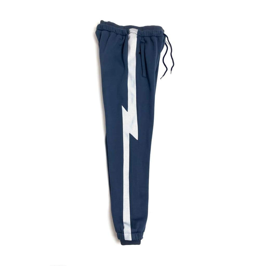 Anvil Crawlers Navy ( Silver 3m ) TRACK PANTS