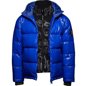 Aspen Puffer (Royal) - PUFFER JACKET