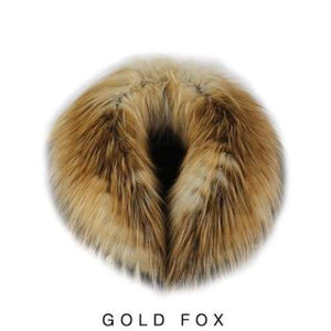 Fox Fur Collar - Gold Fox Fur - Fur collar