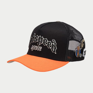 GS FOREVER TRUCKER HAT (Black/Orange)