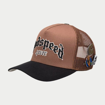 GS FOREVER TRUCKER HAT (Brown)