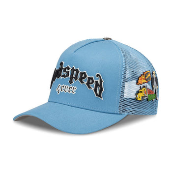 GS FOREVER TRUCKER HAT (SKY BLUE)