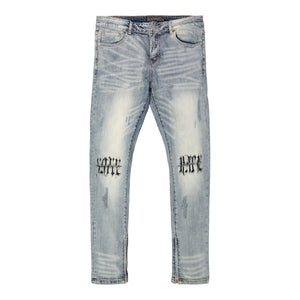 LOVE > HATE DENIM - 34x36 - DENIM