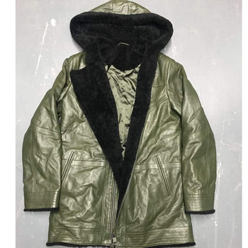 MENS PARKA JACKET sz L