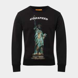 Mother of Freedom Sweatshirt (Black) - HOODIE
