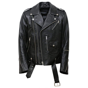 New Yorker Moto ( Black Nappa )