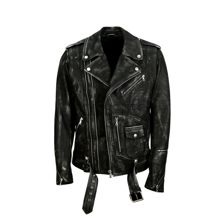 New Yorker Moto (Distressed)