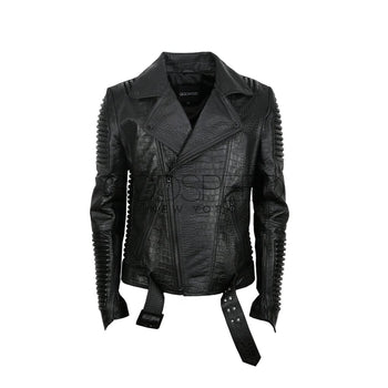 Stealth Moto Jacket (Reptile) - LEATHER JACKET