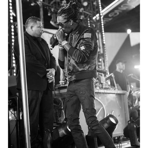 Young Thug Spotted In Godspeed Denim