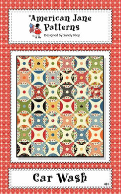 Car Wash Pattern by American Jane