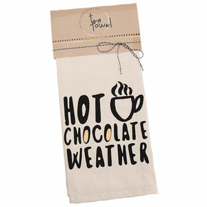 "Chill ""Hot Chocolate Weather"" Towel 961-188"
