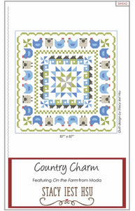 Country Charm Pattern by Stacy Iest Hsu P00998