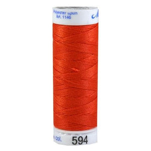 Mettler Metrosene Polyester Thread 0594 Cayenne Red