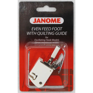 Janome Even Feed Foot With Quilting Guide