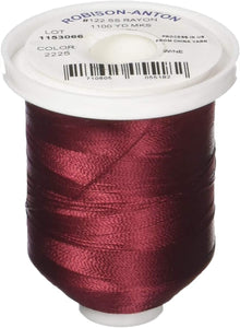 Robison Anton Embroidery 2225 Wine