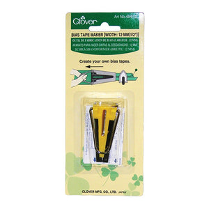 "Clover Bias Tape Maker 12mm (1/2"")"