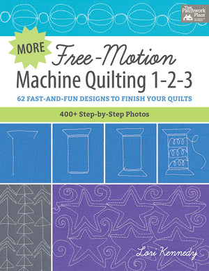Free-Motion Machine Quilting 1-2-3 BOOK