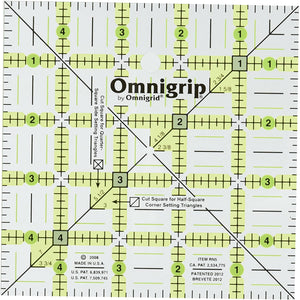 Omnigrip 5in Square Ruler